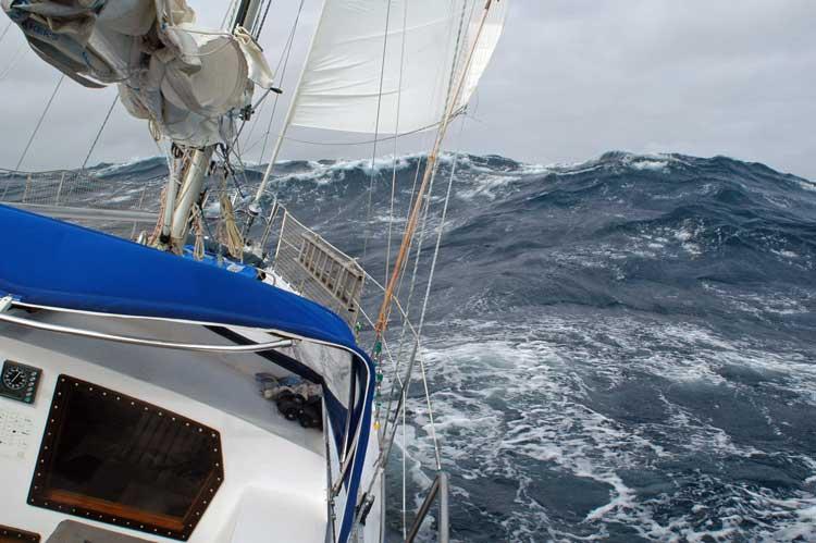 Segelyacht im sturm  SY Daddeldu Blog